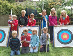 Holiday club archery